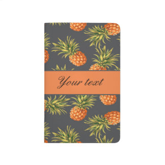 Trendy Personalized Pineapple Journal