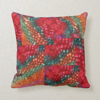 Trendy PIllow/ A Work of Art/Pretty Colors Throw Pillow