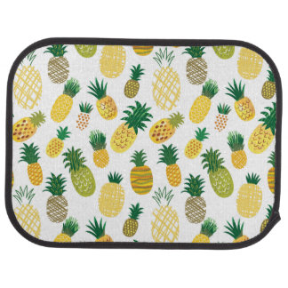 Trendy Pineapple Pattern Auto Mat