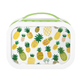 Trendy Pineapple Pattern Lunch Boxes