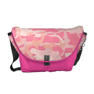 Trendy Pink Camo Commuter Bag