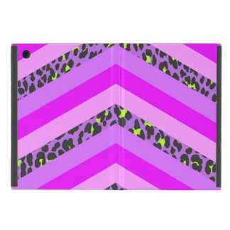 Trendy Pink Cheetah Chevron Animal Pattern Print Case For iPad Mini