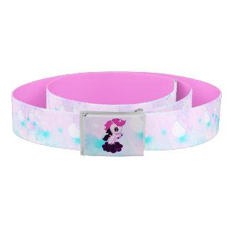 Trendy Pink Pastel Galaxy Unicorn Belt