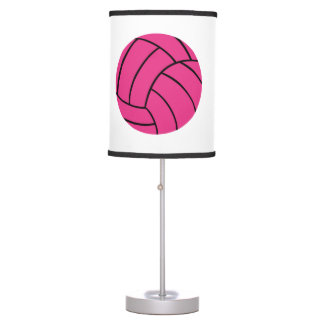 Trendy Pink Volleyball Lamp