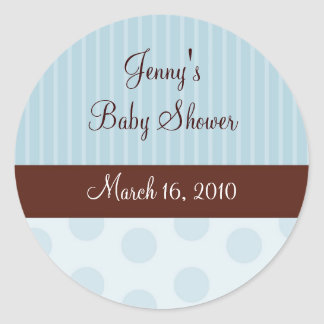 Trendy Polka Dot Stripe Stickers Envelope Seals