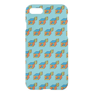 Trendy Pop Squares (DIY color) iPhone 8/7 Case