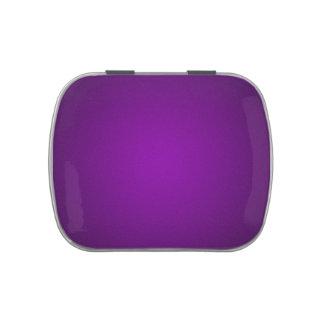 Trendy Purple-Black Grainy Vignette