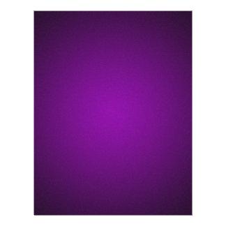 Trendy Purple-Black Grainy Vignette Flyer Design