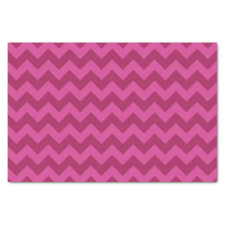 Trendy Purple Chevron Pattern Tissue Paper
