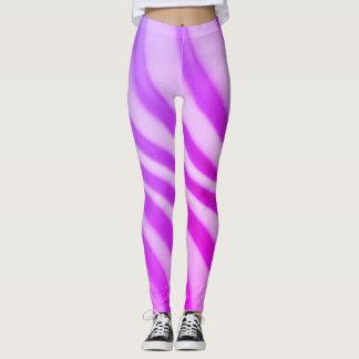 Trendy Purple Swirl - Leggings