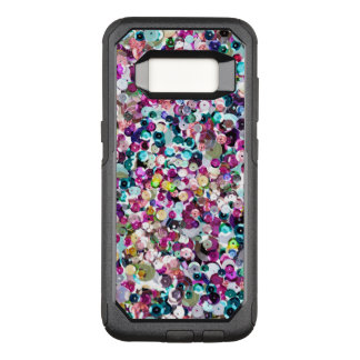 Trendy Rainbow Sequin Pattern OtterBox Commuter Samsung Galaxy S8 Case