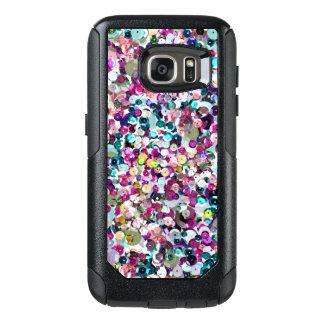 Trendy Rainbow Sequin Pattern OtterBox Samsung Galaxy S7 Case