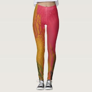 Trendy Red Splash - Leggings