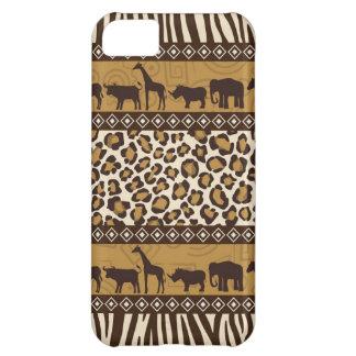 Trendy Safari Animal Print Case iPhone 5C Case