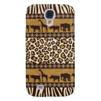 Trendy Safari Animal Print Case Samsung Galaxy S4 Cases
