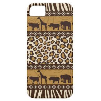 Trendy Safari Animal Print Case iPhone 5 Cover