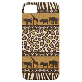 Trendy Safari Animal Print Case iPhone 5 Covers