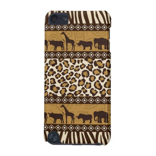 Trendy Safari Animal Print Case iPod Touch 5G Cover