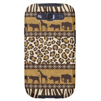 Trendy Safari Animal Print Case Samsung Galaxy SIII Cases