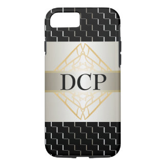 Trendy Silver Black Stunning Fashion CricketDiane iPhone 7 Case
