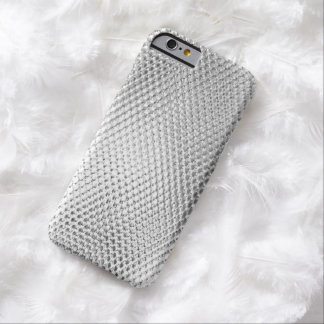 Trendy Silver Bling Effect Barely There iPhone 6 Case