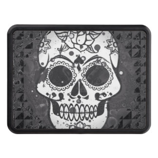 Trendy skull tow hitch covers