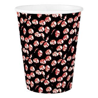 Trendy Skulls Paper Cup