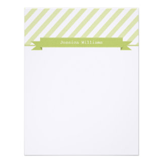 Trendy & Sleek Note Cards Custom Invitations