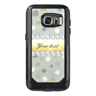 Trendy Snow Polka Dots Stars Diamonds OtterBox Samsung Galaxy S7 Case