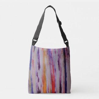 trendy stripes art  All-Over-Print Cross Body Bag