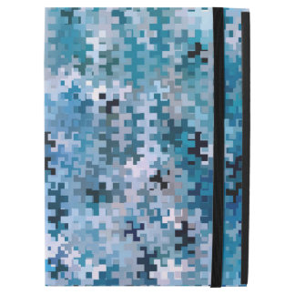 "Trendy Stylish Blue Brown Pink Pattern iPad Pro 12.9"" Case"