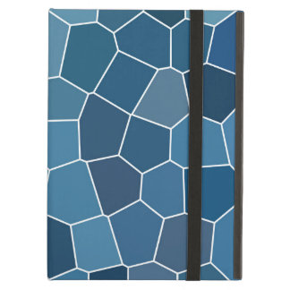 Trendy Stylish Blue Pattern iPad Air Case