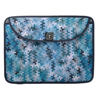 Trendy Stylish Blue Pattern Sleeve For MacBook Pro