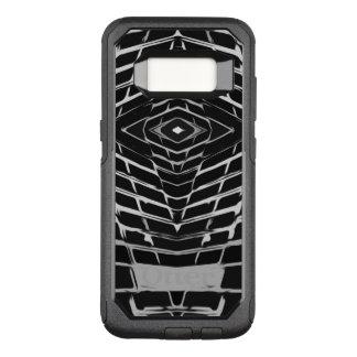 Trendy Stylish Unique Black/White Design OtterBox Commuter Samsung Galaxy S8 Case