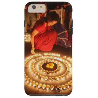 Trendy stylish with glossy print case. tough iPhone 6 plus case