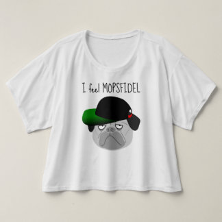 "Trendy T-shirt ""FEEL MOPSFIDEL """
