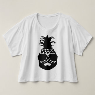 "Trendy T-shirt ""HIPSTER PINEAPPLE """