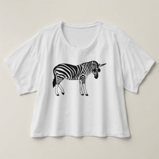 "Trendy T-shirt ""UNICORN ZEBRA """
