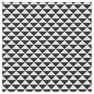 Trendy Triangles Patterned Fabric (Black)