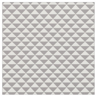 Trendy Triangles Patterned Fabric (Warm Gray)