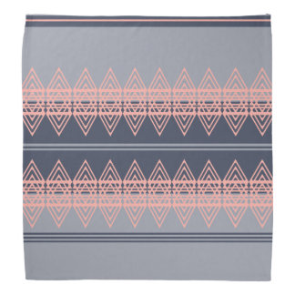 Trendy Tribal Chevron Pattern Geometric Design Art Bandana