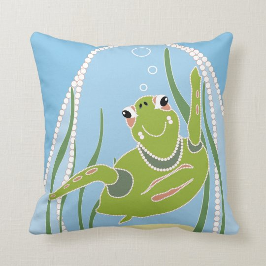 Trendy Turtle American MoJo Pillow