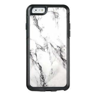 Trendy White Marble Stone OtterBox iPhone 6/6s Case
