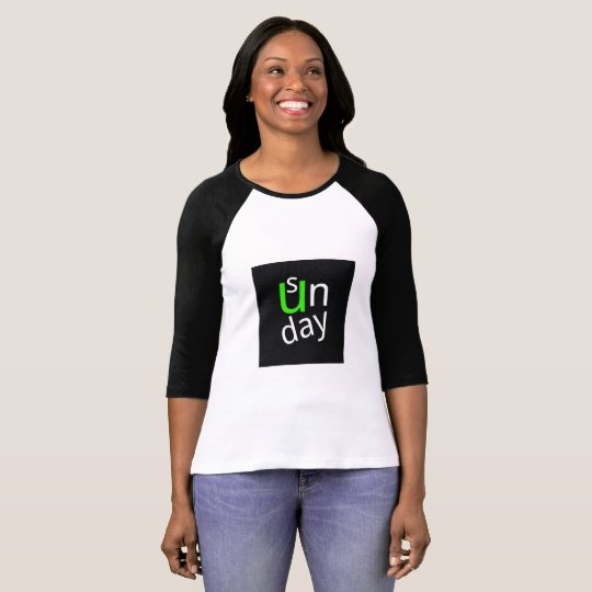 Trendy women t-shirt/sweater Sunday T-Shirt