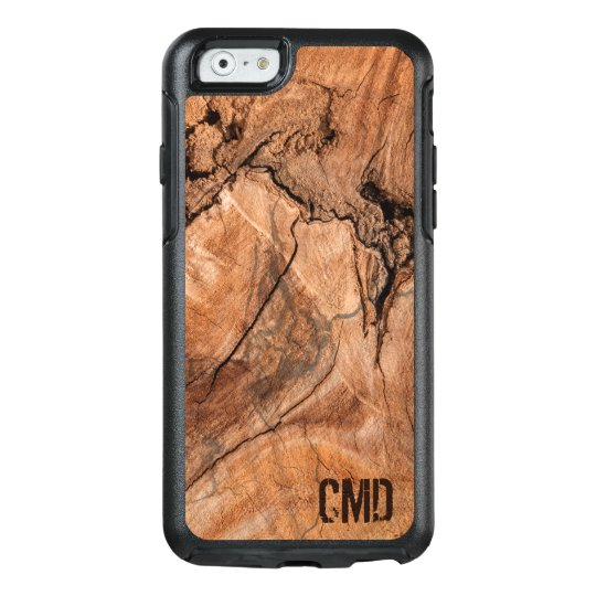 Trendy Wood Knots Texture OtterBox iPhone 6/6s Case