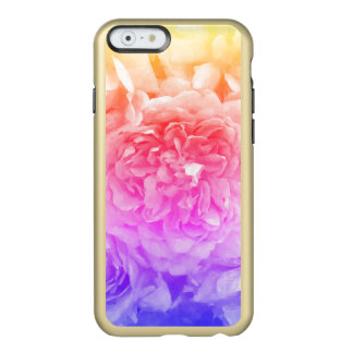 Trendy Yellow, Pink, Purple Rose Incipio Feather® Shine iPhone 6 Case