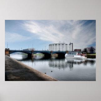 Trent Bridge, Nottingham UK Poster