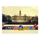 Trent Building , University of Nottingham, Winter Postcard