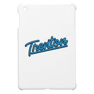 Trenton in cyan iPad mini cases