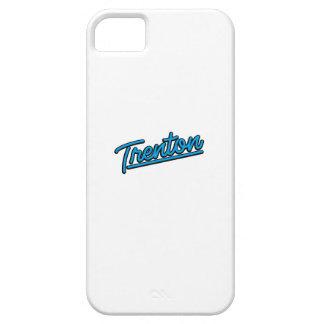 Trenton in cyan iPhone 5 cases